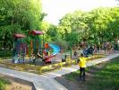 Strada Grenoble, Teren de joaca pentru copii