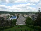 Vedere de la monument spre strada Chisinaului